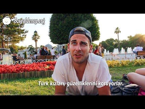 Röportaj - Turistler Türk Kızları Hakkında Ne Düşünüyor?