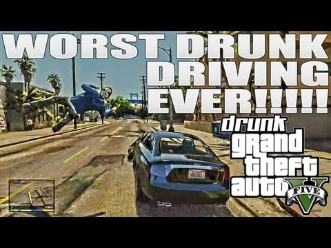 Grand Theft Auto 5 Tits & Private Dances. Drunk Driving & Prank Calls While Drunk GTA 5 Funnies