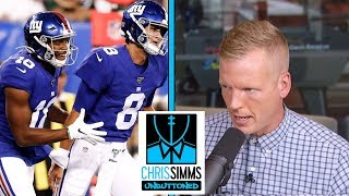 Chris Simms impressed by Daniel Jones rookie QBs in preseason | Chris Simms Unbuttoned | NBC Sports