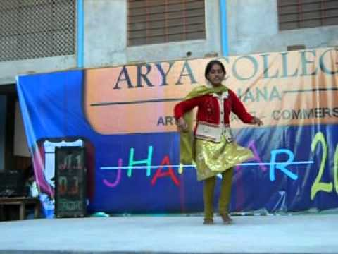 pairon me bandhan dance in arya college singhana final practices...