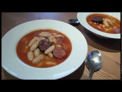 Receta de fabada asturiana en olla rápida ( Olla express )