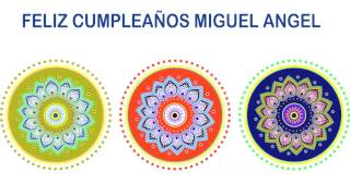Miguel Angel   Indian Designs - Happy Birthday