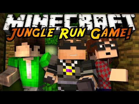 Minecraft Mini-Game : JUNGLE RUN!