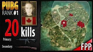 PUBG Rank 1 - Dylhero 20 kills [NA] Duo FPP - PLAYERUNKNOWN'S BATTLEGROUNDS