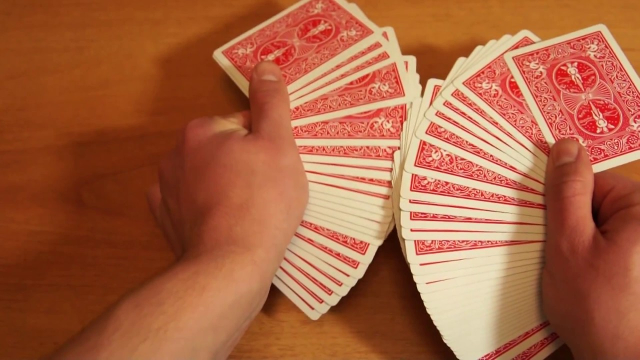 Как сделать веер с картами