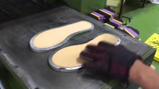 EVA outsole moulding machine
