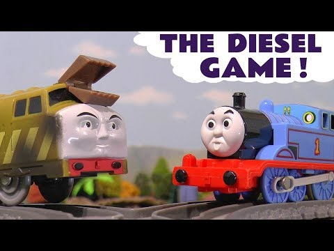 Thomas and Friends Toy Trains Games with naughty Diesel 10 by Tom Moss - Fun story for kids TT4U