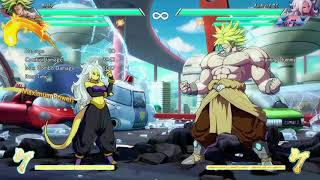 DBFZ: Advanced Broly Combos