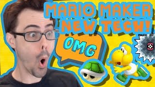 Mario Maker - New Koopa Tech, Reindeer Meatballs, Stone Golem, and More Cool Levels #21