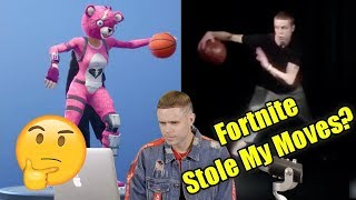Did Fortnite Steal My Moves?! (The Professor)