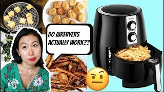 DO AIR FRYERS ACTUALLY WORK?? (5 RECIPES TO TEST!!)