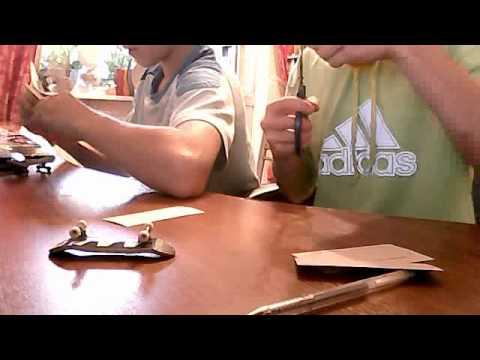 Видео как сделать скейт