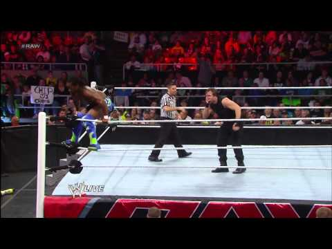 Kofi Kingston & The Usos vs. The Shield: Raw, May 6, 2013