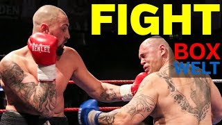 Christian Lewandowski vs Zoltan Csala - 6 rounds heavyweight - 08.04.2018 - Hamburg