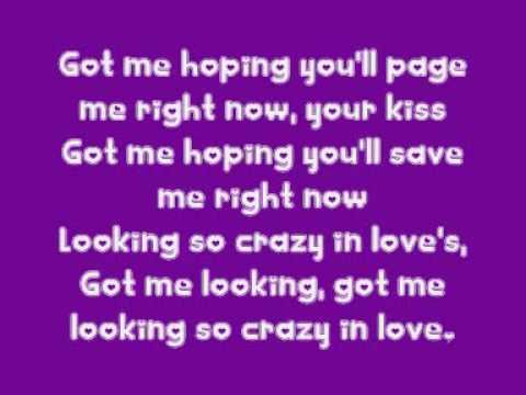 Crazy In Love - Beyonce Knowles feat Jay-Z LYRICS