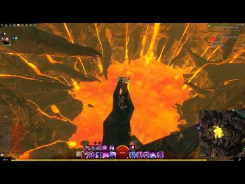 GW2 Chalice of Tears Jumping Puzze Guide (Skip Up the Volcano)