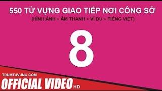 550 Từ Vựng dành cho Dân Văn Phòng (Phụ đề+Hình Ảnh) Part 8/11