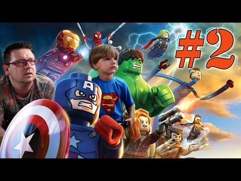 Lego Marvel Super Heroes Video Game: Gaming Part 2