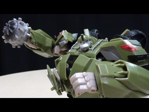 Transformers Prime Voyager BULKHEAD: EmGo's Transformers Reviews N' Stuff