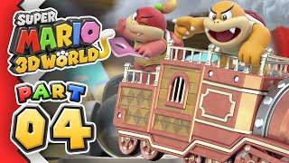 [Replay] Super Mario 3D World: Part 04 (4-Player)