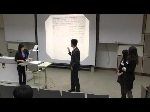 HSBC Asia Pacific Business Case Competition 2013 - Round1 F3 - Fudan