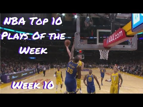 LARRY NANCE JR POSTERIZES KEVIN DURANT | 2017-18 NBA TOP 10 PLAYS OF THE WEEK: WEEK 10
