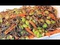 Black Bean Sesame Noodle With Edamame - Clean & Delicious