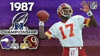 How One Drop in the '87 NFC Championship Changed the NFL Forever | NFL Vault Stories
