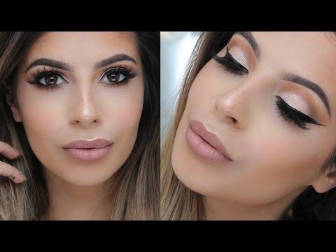 Go -To Makeup Tutorial   VioletVoss X Laura Lee