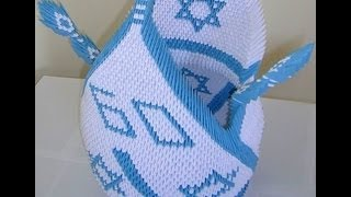 3d Origami Huge Swan For Israel Celebrating 60 Years...2008