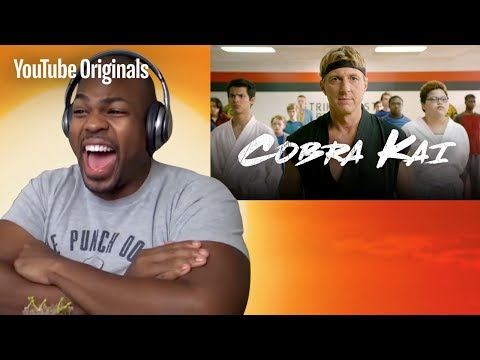 Trailer Reaction Compilation - Cobra Kai