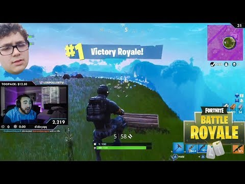 LosPollosTv Carried By His Little Brother! Hilarious Fortnite Duos thumbnail