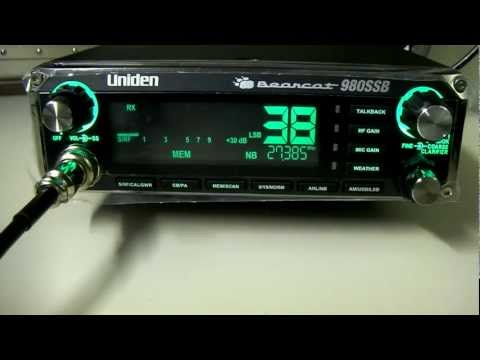 Uniden Bearcat 980 SSB - (Overview) New AM-SSB radio from Uniden