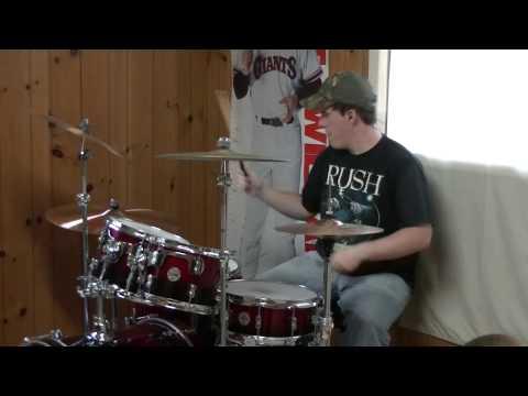 Jason Aldean tattoos On This Town (drum Cover) video
