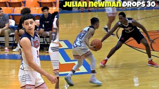 HEATED! Julian Newman DROPS 30 POINTS vs Ramone Woods Team