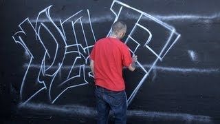 How to Balance Letters in a Name | Graffiti Art