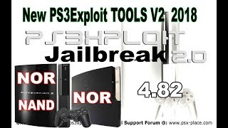 How To Jailbreak Your PS3 With ( New PS3Exploit TOOLS V2 2018 )