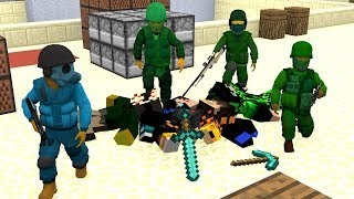 Minecraft vs Counter Strike Global Offensive мультик (часть 2)