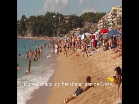 De Bouwers - Aan de Costa (zomerhit 2012 met karaoke tekst)