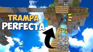 TRAMPA PERFECTA PARA MINECRAFT | PUERTA TROLL SECRETA
