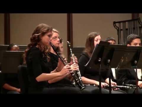 Martin County High School Symphonic Band - State MPA April 30, 2014 - Piece 3