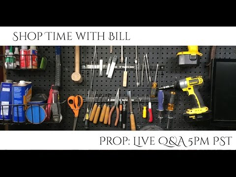 Prop: Live - Shop Time with Bill - 1/16/2015