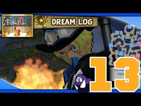 One Piece Pirate Warriors 3 - Dream Log HD(Part 13): Marine Admiral Fujitora