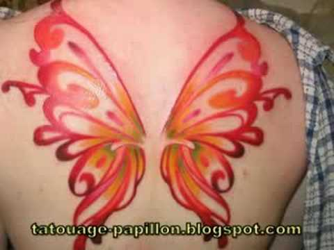 Tatouages Papillon | Butterfly Tattoos (video remix)