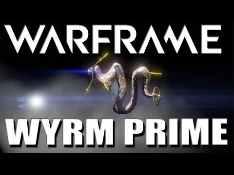Warframe Wyrm Prime