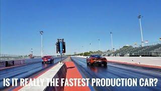 The Drag Race That Shook The Mopar World : Mclaren 720s vs Dodge Demon