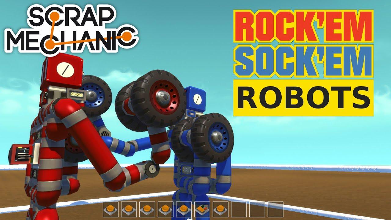 Как сделать робота в скрап механик 321