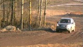 Foresterclub.lt with Subaru Forester in automoto parke. One after another-chase 1
