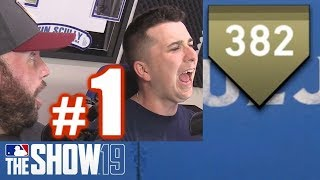PLAYING TDBARRETT IN PERSON! | MLB The Show 19 | Home Run Derby #1