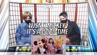 우주소녀 Wjsn Mickey It 39 S A Good Time Mv Ninja Bros Reaction Review